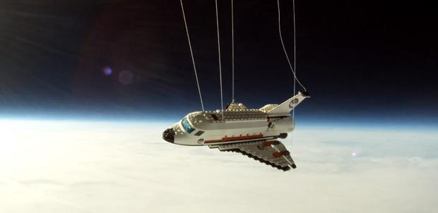 El último vuelo de la NASA en LEGO