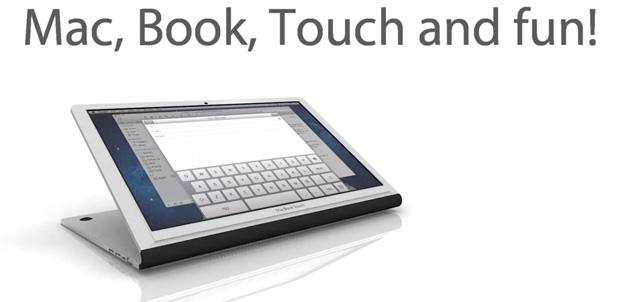 MacBook Touch el mejor concepto