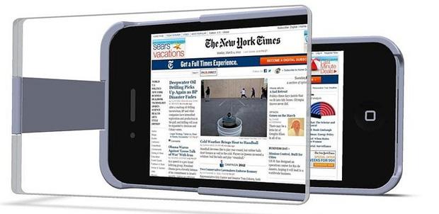 MagniCase mejor lectura en iPhone 4S