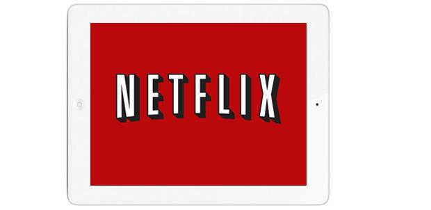 Ve más contenido de Netflix en iPad