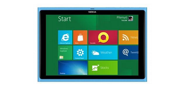 Nokia planea una tablet Windows 8