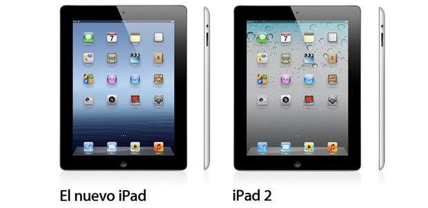 Diferencias entre iPad y iPad 2