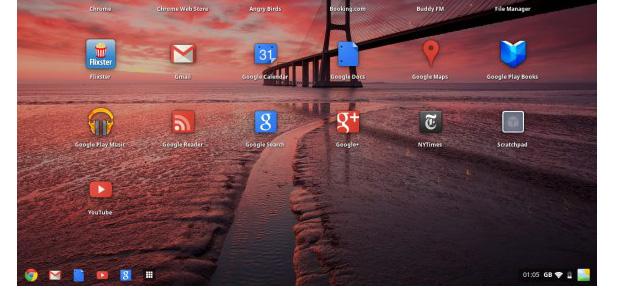 Google Chrome OS al estilo Windows