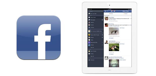 Facebook para iPad se actualiza