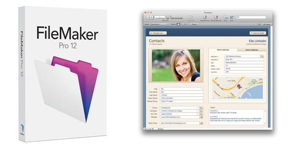 FileMaker 12 crea y administra bases de datos