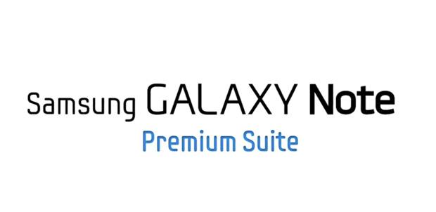 Galaxy Note con aplicaciones para S Pen