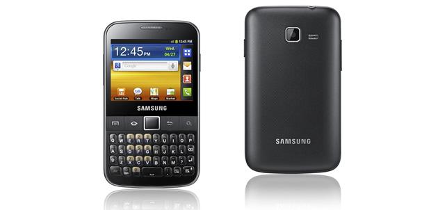 Samsung Galaxy Y PRO ya en México