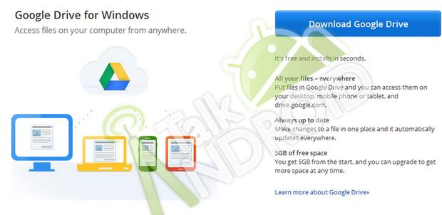 Google Drive la siguiente semana