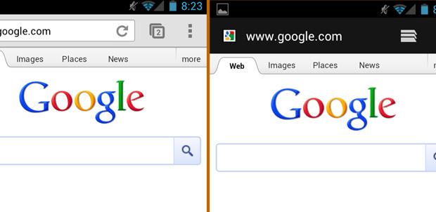 Google en 14 navegadores de Android
