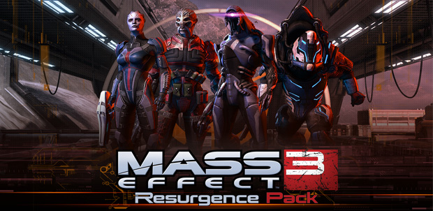 Los mapas de Mass Effect 3: Resurgence
