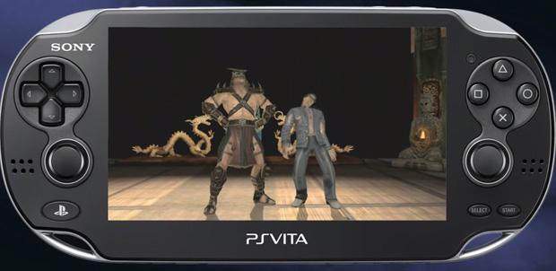 Teaser de Mortal Kombat para PS Vita