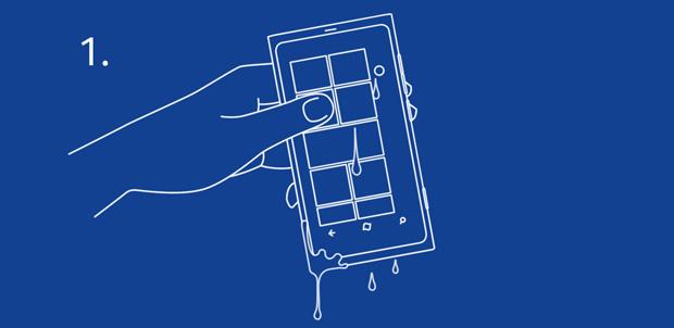 Qué hacer si tu Nokia Lumia cae al agua