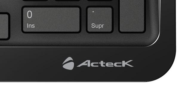 Teclado Slim Desktop de Acteck