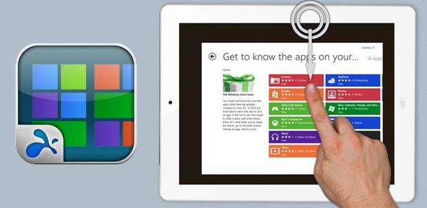 Slashtop convierte tu iPad en Windows 8