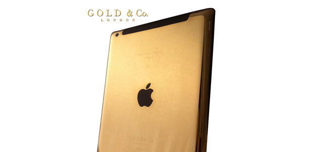El iPad de oro, el más caro hasta ahora