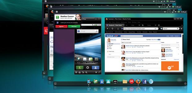 Motorola Webtop 3.0 ahora con ICS