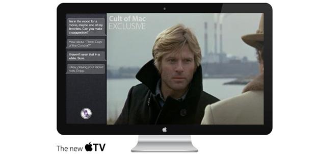 iSight y Siri en el nuevo Apple HDTV