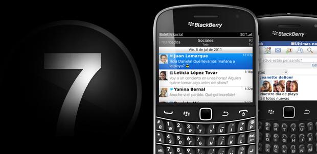 Tres razones para actualizar a BlackBerry 7