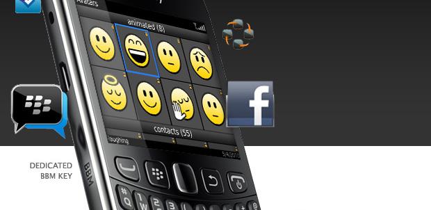 RIM presenta BlackBerry Curve 9320