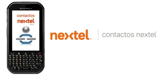 Contactos Nextel para una vida social