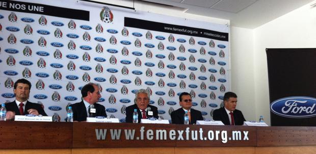 Ford hace equipo con la Selección Mexicana
