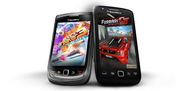 Más juegos de Gameloft a BlackBerry