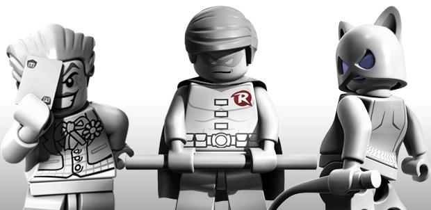 Catwoman, Robin y Joker en LEGO Batman 2