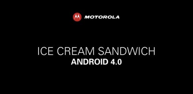Interfaz de Motorola con Android 4.0