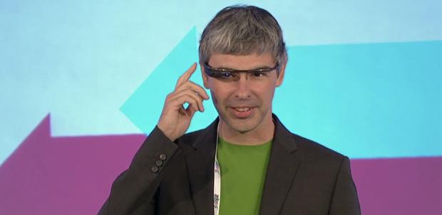 Larry Page utiliza Project Glass en Reino Unido