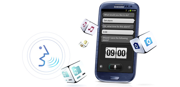 Samsung S Voice para Android ICS