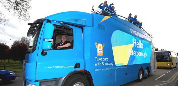 Samsung está lista para Londres 2012