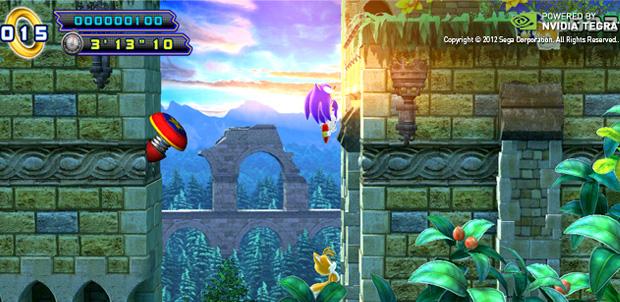 Sonic 4: Episode II en Xbox, PSN y Tegra 3