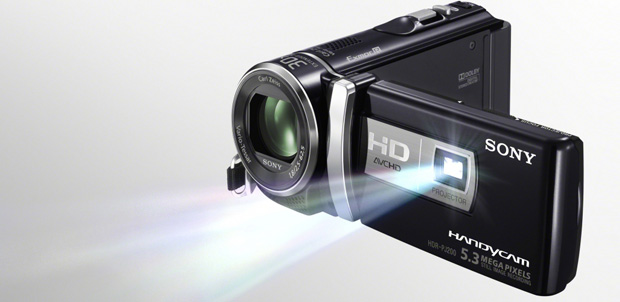 Handycam HDR-PJ200 hasta 100 pulgadas