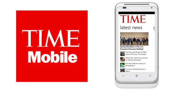 TIME llega a Windows Phone Marketplace