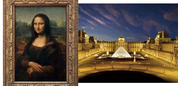 La Mona Lisa será iluminada por Toshiba