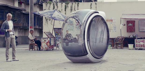 Vehículo flotante de Volkswagen