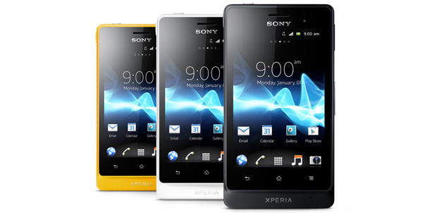 Sony Xperia go a prueba de agua