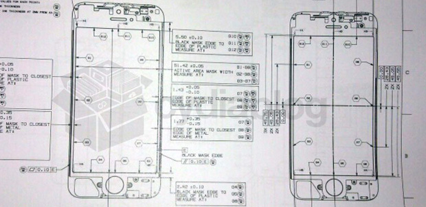 iPhone 5 con pantalla de 4 pulgadas