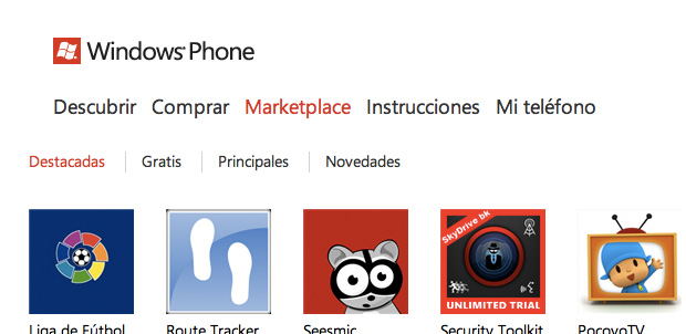 100,000 aplicaciones para Windows Phone