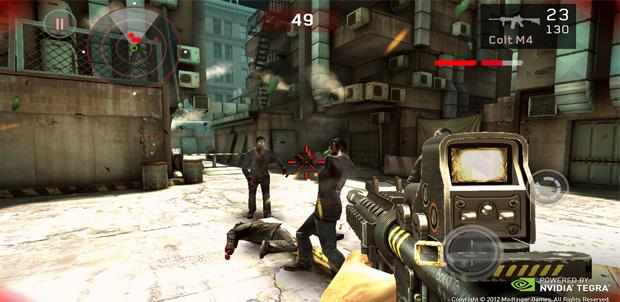 Dead Trigger mejorado para Tegra 3