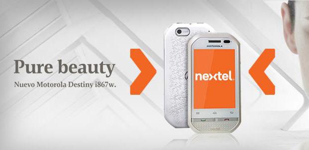Motorola Destiny i867W en Nextel