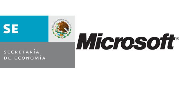 Secretaría de Economía con apoyo de Microsoft