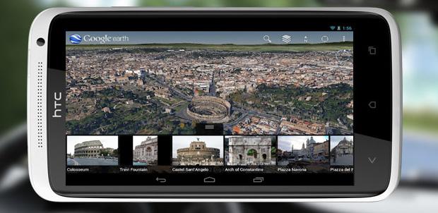 Google Earth 7.0 para Android con 3D