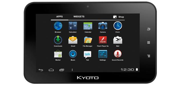 Kyoto presenta su nueva Tablet ID7G