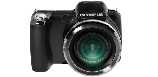 Olympus SP-810UZ con un gran zoom