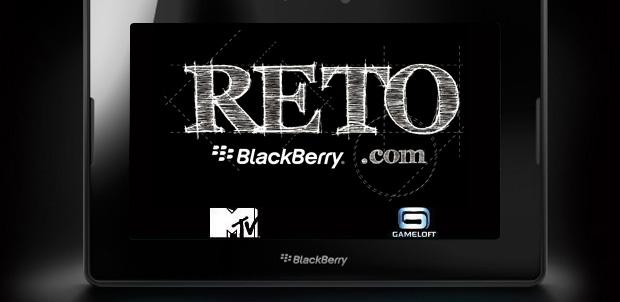 MTV y Gameloft apoyan el Reto BlackBerry