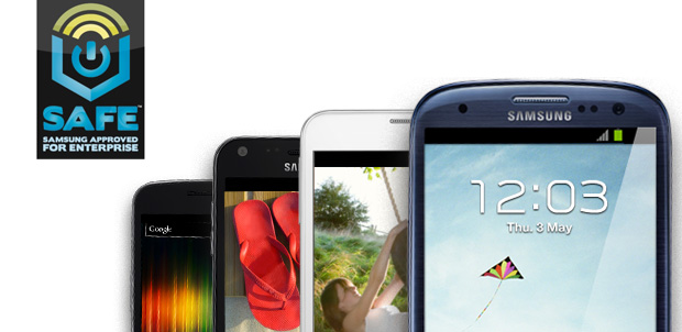 Samsung Galaxy S III ideal para empresas