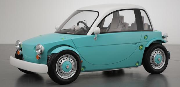 The Camatte auto eléctrico para niños