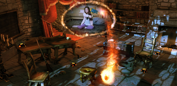Book of Spells de J.K. Rowling a PlayStation 3