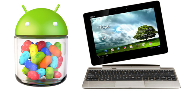 Asus Eee Pad con Jelly Bean